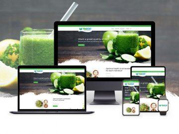 custom designed website advantages